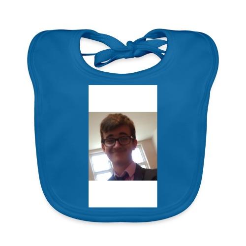 Anthony's mug and cushions to swallog you up! - Baby Organic Bib