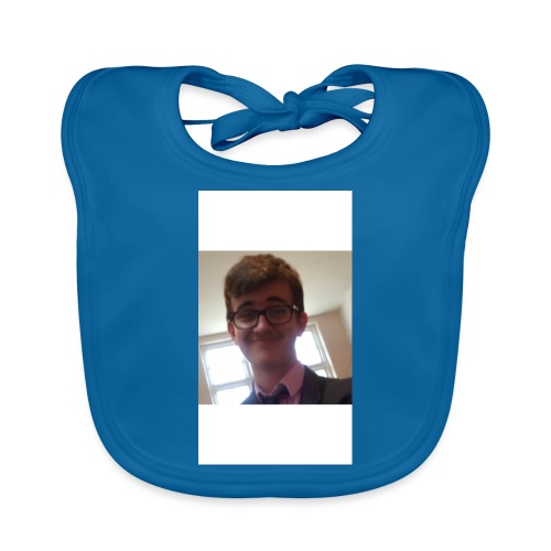 Anthony's mug and cushions to swallog you up! - Organic Baby Bibs