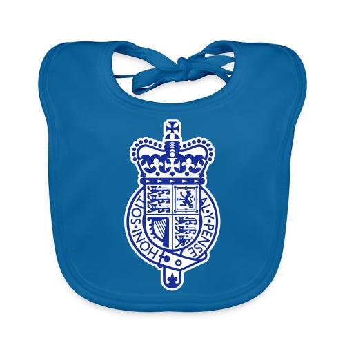 British Heraldry Pixellamb - Baby Bio-Lätzchen