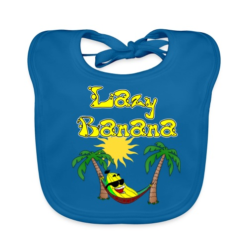 Who is as chilly as the Lazy Banana - Organic Baby Bibs