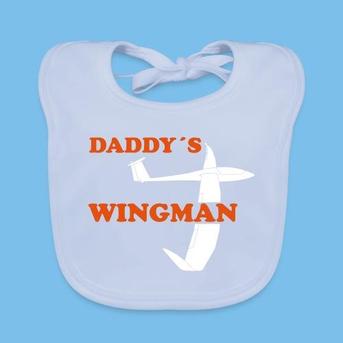 Segelflieger Nachwuchs Baby Segelflugzeug Geschenk - Baby Bio-Lätzchen