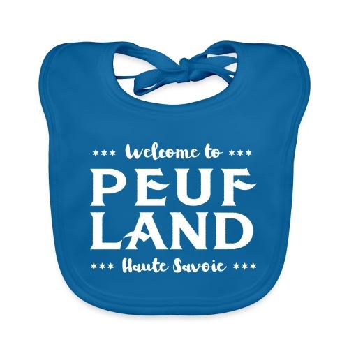 Peuf Land 74 - white - Bavoir bio Bébé
