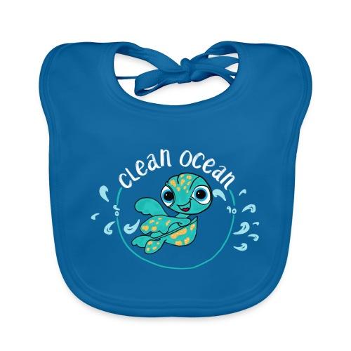 Clean Ocean - Baby Organic Bib