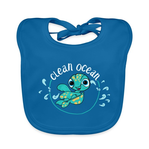 Clean Ocean - Organic Baby Bibs