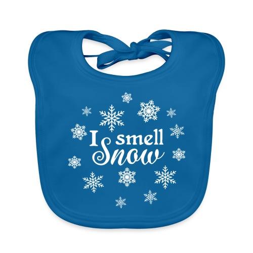 Winter Spruch Schnee Weihnachten Liebe - Baby Bio-Lätzchen