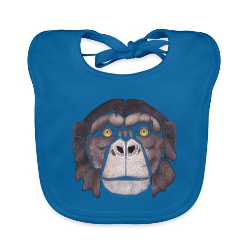 chimpanzé - Bavoir bio Bébé