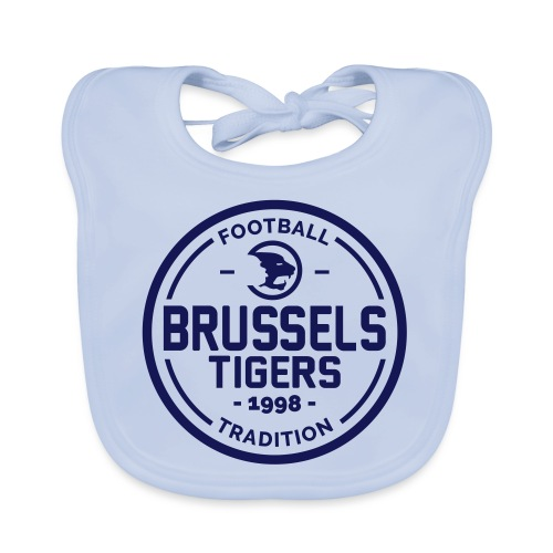 Brussels Tigers Tradition - Baby Organic Bib