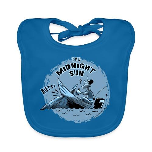 MIDNIGHT SUN, FUNNY FISHING TEXTILES, GIFTS - Vauvan luomuruokalappu