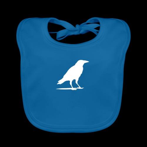 OTB Crow Logo - Organic Baby Bibs
