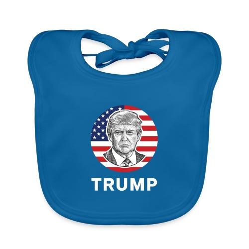 Donald trump - Baby Bio-Lätzchen