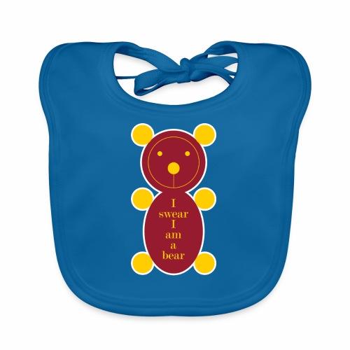 I swear I am a bear 001 - Bio-slabbetje voor baby's