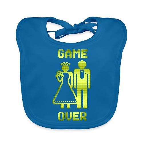 Game Over Old Skool geel - Bio-slabbetje voor baby's