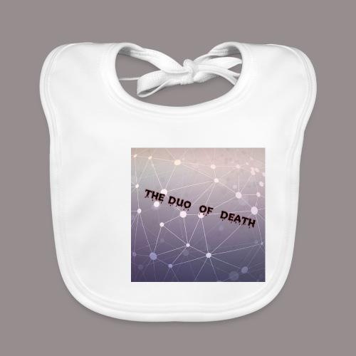 The duo of death logo - Bio-slabbetje voor baby's