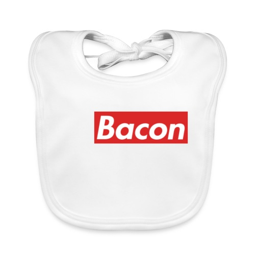 Bacon - Ekologisk babyhaklapp
