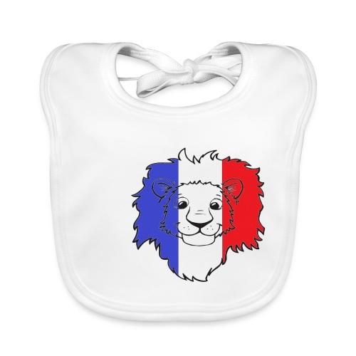 Lion France - Bavoir bio Bébé