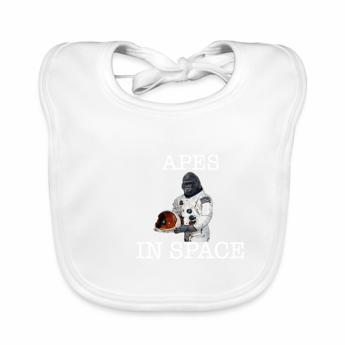 Apes in Space - Baby Organic Bib