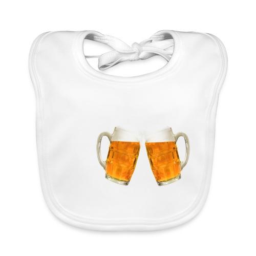 Zwei Bier - Baby Bio-Lätzchen