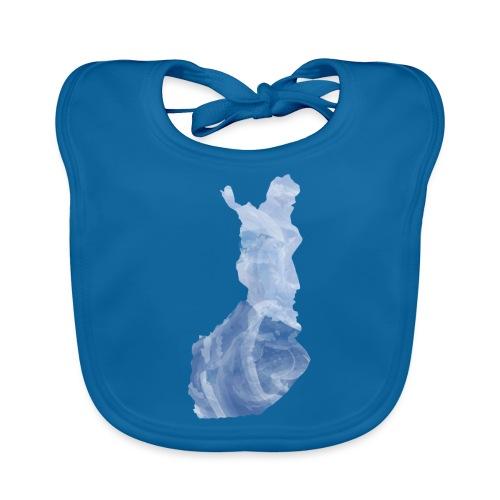 Suomi Finland - Vauvan luomuruokalappu