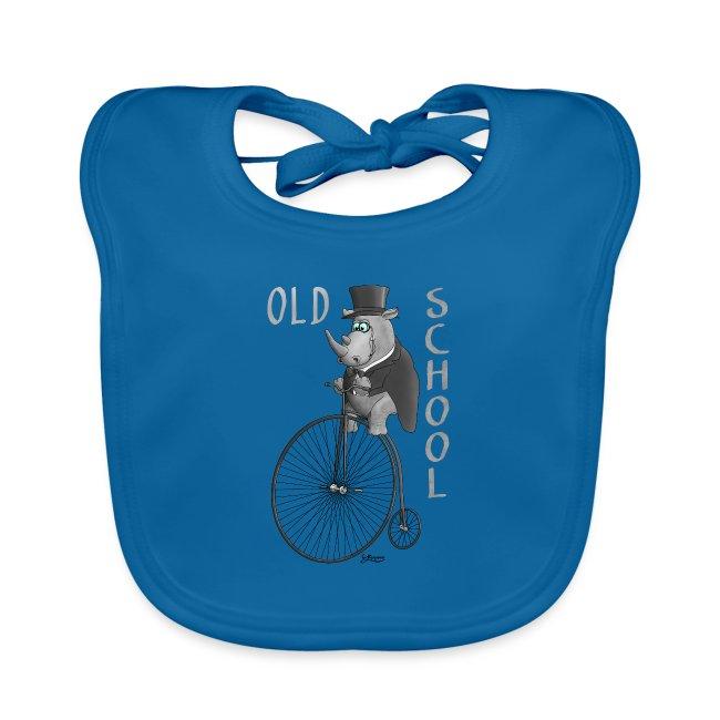 Old school Fahrrad - Zylinder - Frack - Monokel