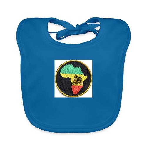 Rasta Lion - Ekologisk babyhaklapp