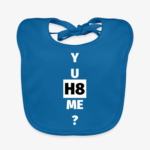 YU H8 ME bright - Organic Baby Bibs