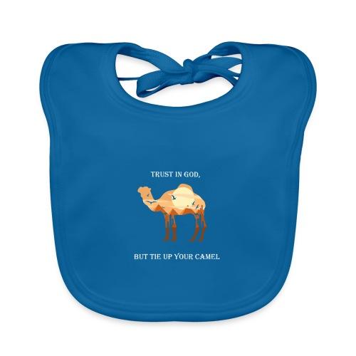 Camel Kamel quote - Baby Bio-Lätzchen