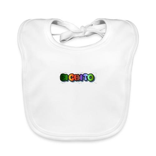 cooltext206752207876282 - Babero de algodón orgánico para bebés