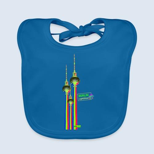 Fernsehturm Berlin PopArt ickeshop BachBilder - Baby Bio-Lätzchen