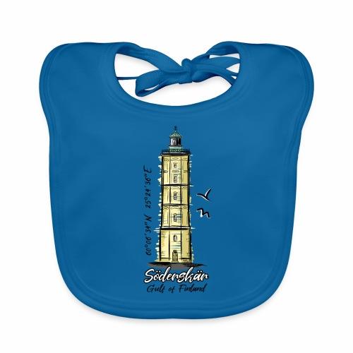 Finnish Lighthouse SÖDERSKÄR Textiles, and Gifts - Vauvan luomuruokalappu
