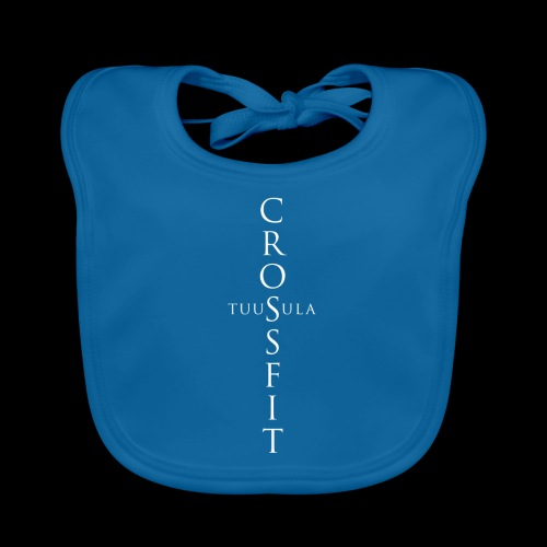 CrossFit Tuusula risti - Vauvan luomuruokalappu