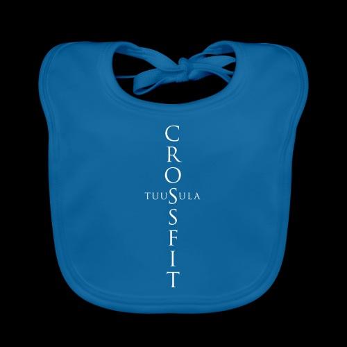 CrossFit Tuusula risti - Vauvan ruokalappu