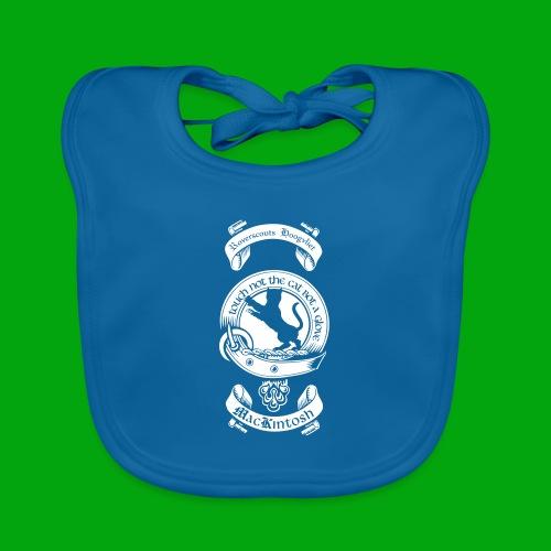 Enkel Roverscouts logo - Bio-slabbetje voor baby's
