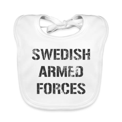 SWEDISH ARMED FORCES - Rugged - Ekologisk babyhaklapp