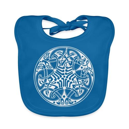 Old Celtic Birds Ornament Mandala 2 - Baby Bio-Lätzchen