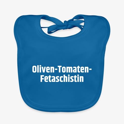 Oliven-Tomaten-Fetaschistin - Baby Bio-Lätzchen