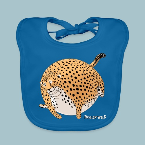 Rollin'Wild - Cheetah - Organic Baby Bibs