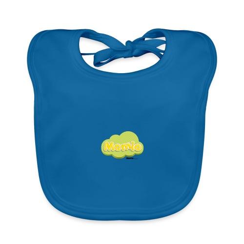Momio-logo - Vauvan luomuruokalappu