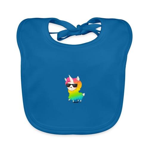 Regenboog animo - Bio-slabbetje voor baby's