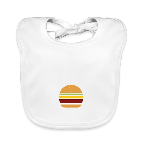 Logo Burger Panhamburger - Bavoir bio Bébé