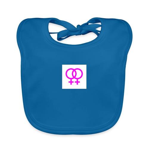 lesbian logo - Bavoir bio Bébé
