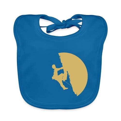 Tufa Kletterer gelb - Baby Bio-Lätzchen