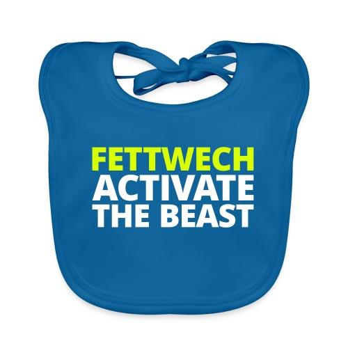Fettwech Active the Beast - Baby Bio-Lätzchen
