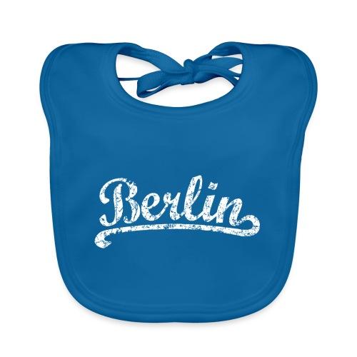 Berlin Classic (Vintage/Weiß) - Baby Bio-Lätzchen