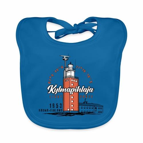 Finnish Lighthouse KYLMÄPIHLAJA Textiles, and Gift - Vauvan luomuruokalappu