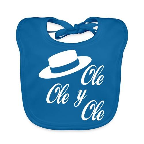 Ole,Ole y Ole (Hombre) - Babero de algodón orgánico para bebés