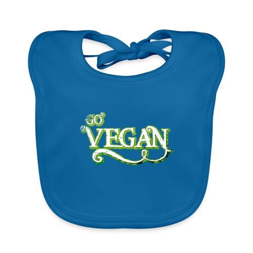 GO VEGAN - Organic Baby Bibs