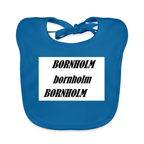 Bornholm Bornholm Bornholm - Hagesmække af økologisk bomuld