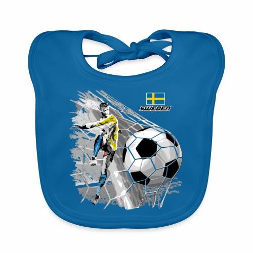 FP22F 16 SWEDEN FOOTBALL - Vauvan luomuruokalappu