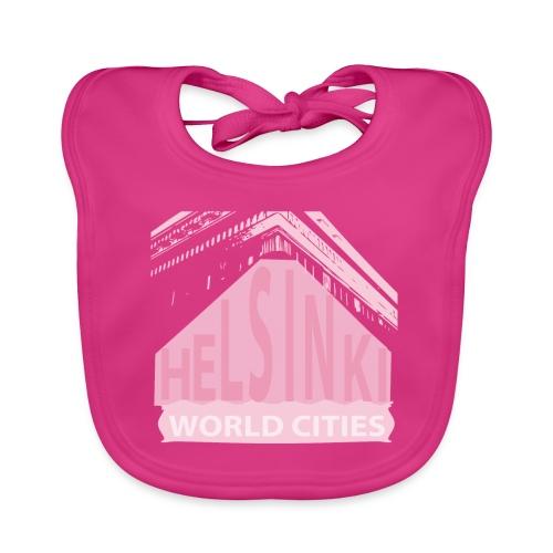 Helsinki light pink - Baby Organic Bib