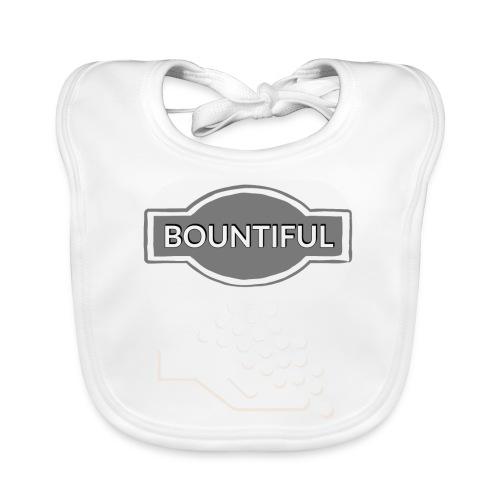 Bontiul gray white - Baby Organic Bib
